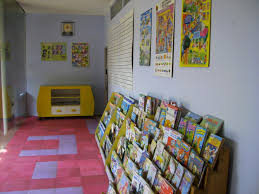 open library in imaginative playgroup room design ei teaching