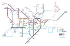 London Subway Map by London Tube Map Shows How Many Calories You Would Burn Walking