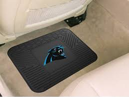 nfl team logo vinyl floor mats for cars trucks by fanmats