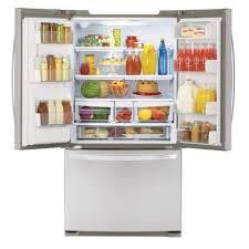 lg bottom freezer french door refrigerator lg energy star 20 5 cu ft counter depth french door refrigerator
