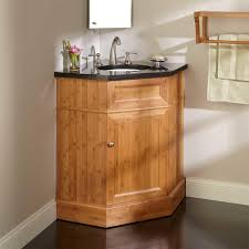 ideas to install corner bathroom vanity