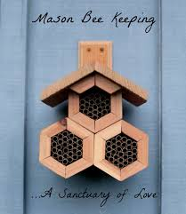 is your garden complete with a mason bee house yet why you need a