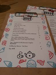 hello kitty writing paper hello kitty diner chatswood nov 2015 lycheeparfait a food 20151110 181537