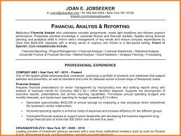Resume Sample Budget Analyst by 9 Good Resume Examples Latest Cv Format