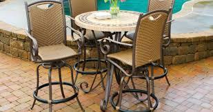Outdoor Bar Patio Furniture - furniture bar height patio table siqoc awesome bar height patio