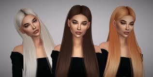 sims 4 hair custom content ts4 alpha cc tumblr