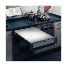 table coulissante cuisine plan de travail avec table coulissante tiroir plan de