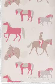 papier peint chevaux pour chambre papier peint poney papier peint aventures de lutèce