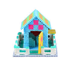 200pcs 1bag 5mm plastic hama perler beads toy for kid great fun