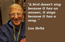 Lou Holtz Memes - lou holtz life advice quotes pictures to pin on pinterest