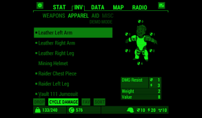 pipboy android fallout pip boy screenshots for android mobygames