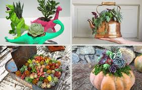 succulent planters 29 creative succulent planter ideas you should definitely steal