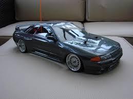nissan gtr drift car nissan skyline r32 gt r tamiya rc tt 01 d drift car kit retro rides
