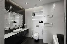 black and white bathroom designs apartment black and white bathroom design with patterned white