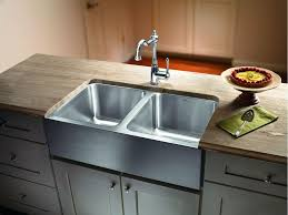 stainless steel apron sink magnum equal double bowl stainless steel sink w apron jack london