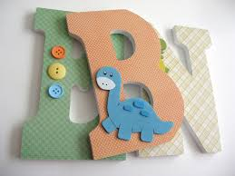 custom decorated wooden letters sports theme nursery bedroom home