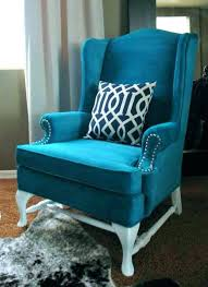 turquoise chair slipcover turquoise wing chair best wing back chair 3 images on vintage