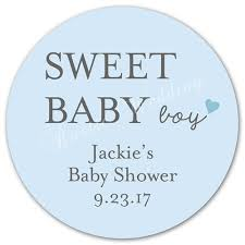 baby shower favor labels personalized baby shower decoration