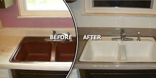 Metro East Reglazing Custom Kitchen  Bath Refinishing - Reglazing kitchen sink