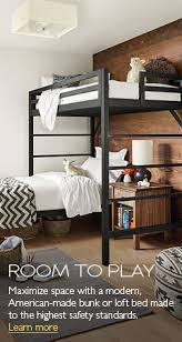 American Made Bunk Beds Furniture Aspace Coco Bunk Bed Magnificent Contemporary Beds 5