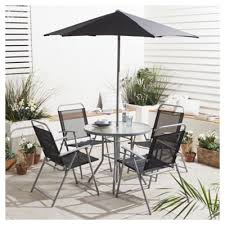 Tesco Bistro Chairs Buy Tesco Hawaii Garden Furniture Set 6 Piece From Our Metal