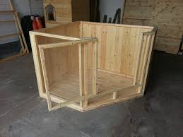 Rabbit Hutch Diy Bespoke Indoor Pen With Solid Timber Floor Back And Sides With