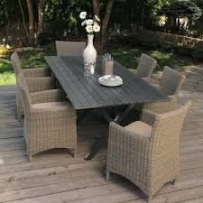 wicker dining table with glass top best outdoor dining set great outdoor dining sets in outdoor wicker