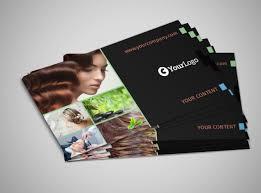 hair salon u0026 spa business card template mycreativeshop
