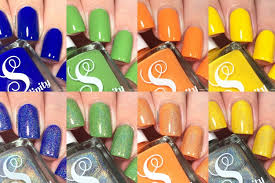 serendipity nail polish summer in oc swatches swatch video