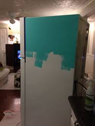 How To Paint A Faucet Best 25 Painting Refrigerator Ideas On Pinterest Ugly Fridge