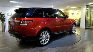 red range rover range rover sport red with black lawton brook youtube
