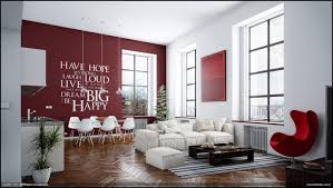 white and red living room layout 18 retro red black and white