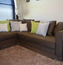 Ikea Sofa Bed With Chaise by Ikea Moheda Sofabed With Chaise And Storage Ebth