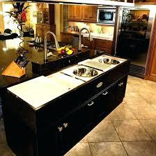 sink island kitchen sink kitchen island evropazamlade me