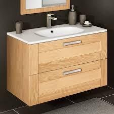 meuble salle de bain en bois deux tiroirs salles de bain discac