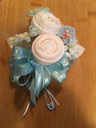 how to make a baby shower corsage baby sock baby shower corsage handmade infant baby shower corsage