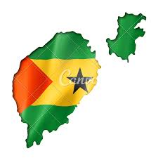 map of sao tome sao tome and principe flag map photos by canva