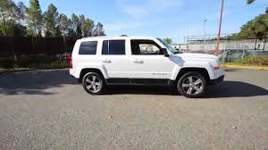 jeep patriot white with black rims 2016 jeep patriot high altitude white gd537008 redmond
