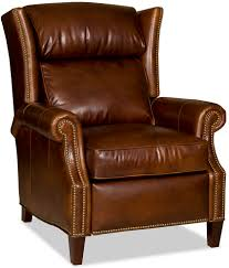 Recliner Laptop Desk by Wing Back Leather Recliner Chair Www Fineleatherfurniture Com