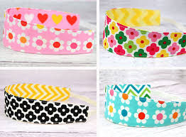 fabric headbands fabric sighting reversible headbands kelle