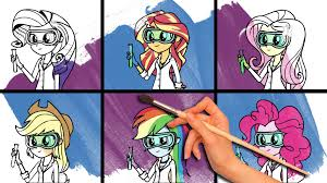 my little pony coloring book rarity sunset shimmer fluttershy