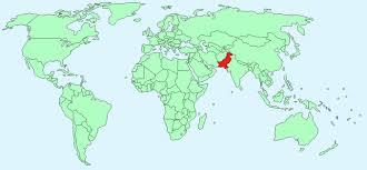 world map pakistan karachi pakistan facts and figures