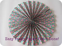 paper fan circle decorations paper fans 35 how to s guide patterns