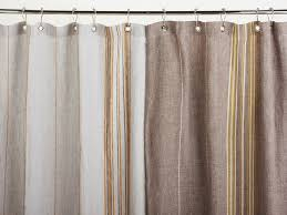 hanging shower curtains without rod natural bathroom ideas
