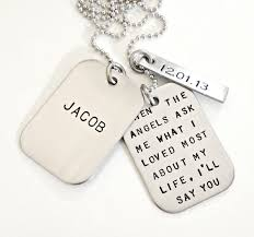 customized dog tag necklace with picture personalized dog tags sted memorial