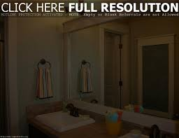 diy bathroom mirror frame ideas bathroom mirror frame ideas best bathroom decoration
