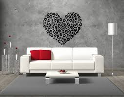 Heart Wall Stickers For Bedrooms Best 25 Cheetah Print Walls Ideas On Pinterest Leopard Room