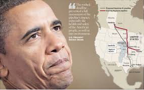Keystone Xl Pipeline Map Obama Denies Permit For Keystone Xl Pipeline Oil Sands Truth