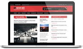 news mix magazine wordpress theme light version kopa theme