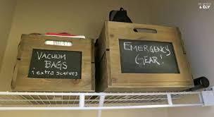 Closet Bins by Ending The Embarrassment The Coat Closet Me Myself U0026 Diy